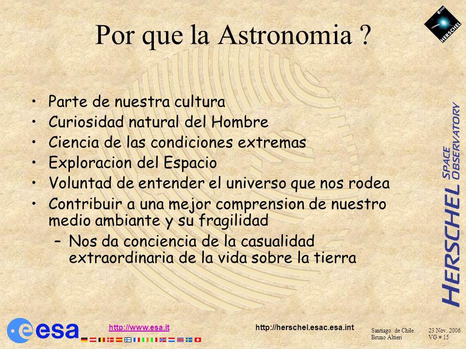 Por que la Astronomia Parte de nuestra cultura