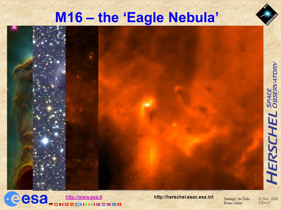 M16 – the 'Eagle Nebula'