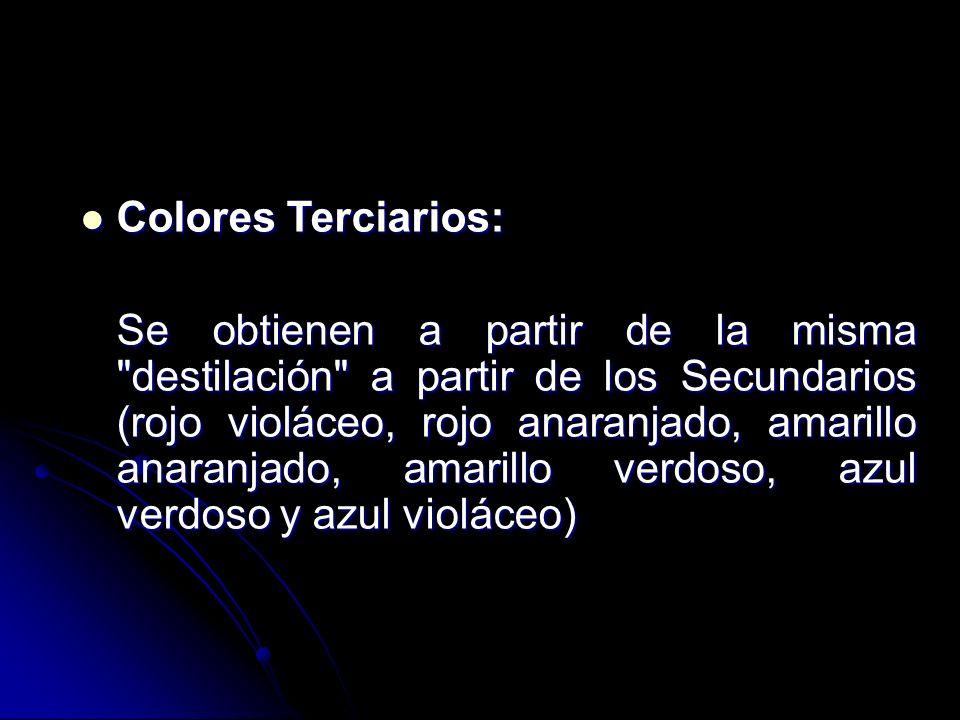 Colores Terciarios: