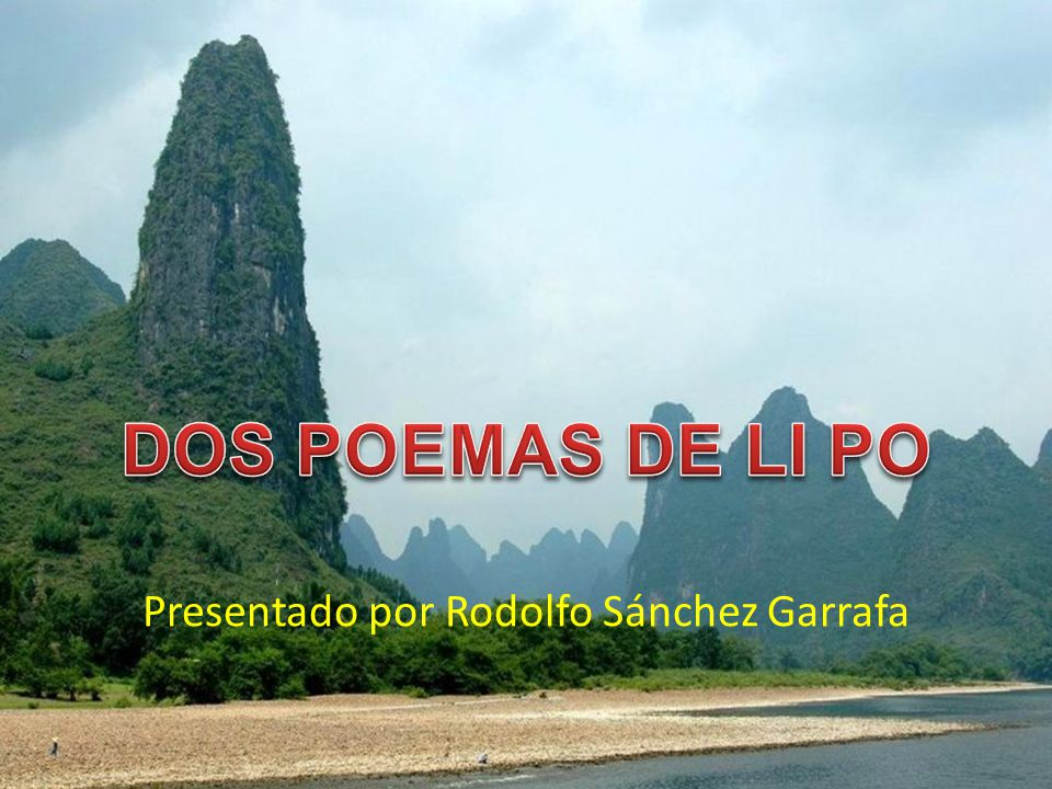 Presentado por Rodolfo Sánchez Garrafa
