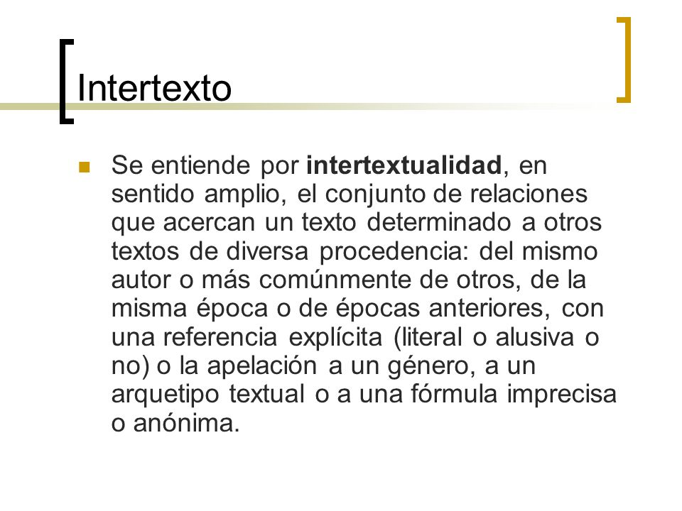 Intertexto
