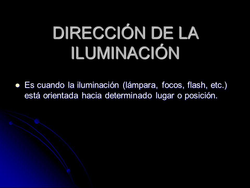 DIRECCIÓN DE LA ILUMINACIÓN