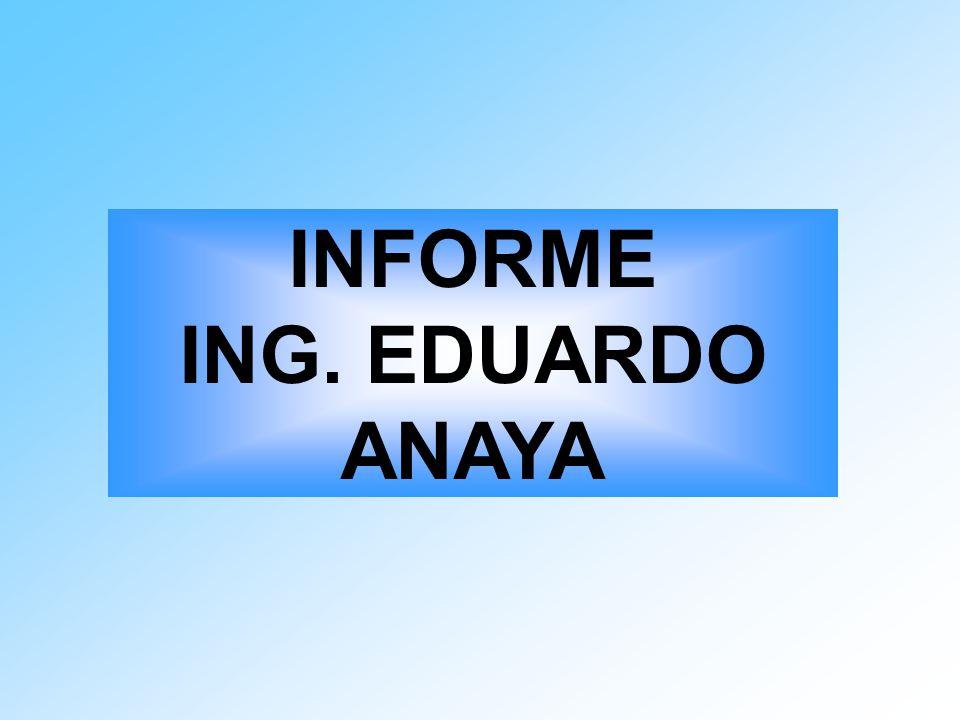 INFORME ING. EDUARDO ANAYA