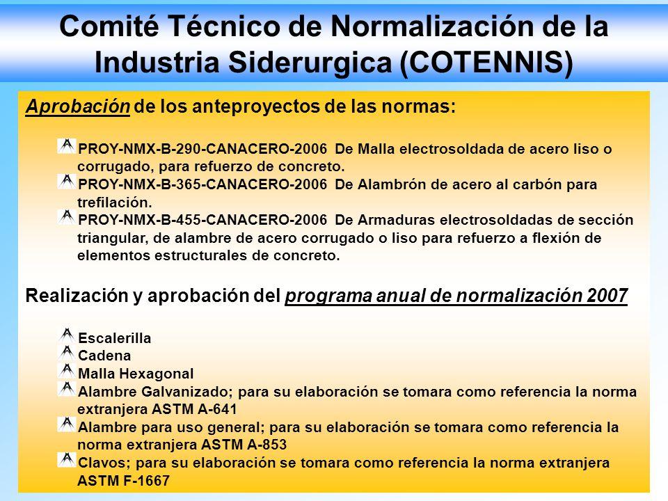 Comité Técnico de Normalización de la Industria Siderurgica (COTENNIS)