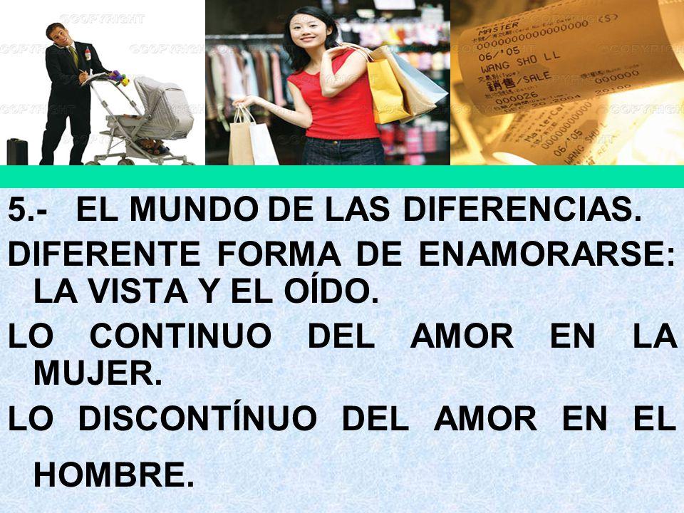 5.- EL MUNDO DE LAS DIFERENCIAS.