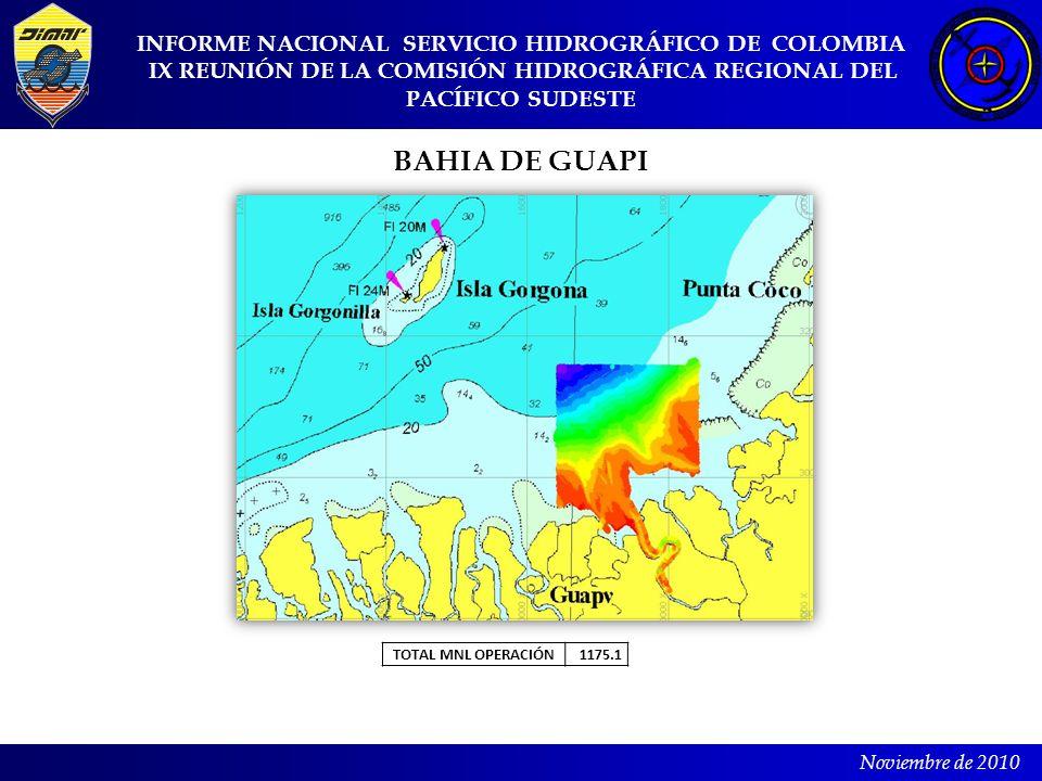 BAHIA DE GUAPI INFORME NACIONAL SERVICIO HIDROGRÁFICO DE COLOMBIA