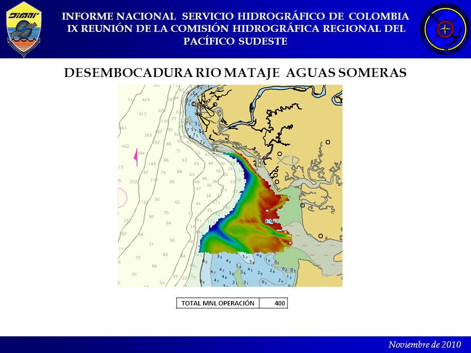 DESEMBOCADURA RIO MATAJE AGUAS SOMERAS