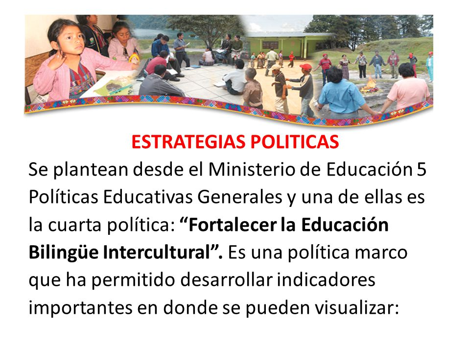 ESTRATEGIAS POLITICAS