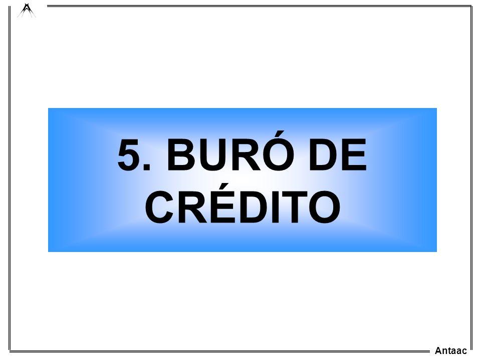 5. BURÓ DE CRÉDITO