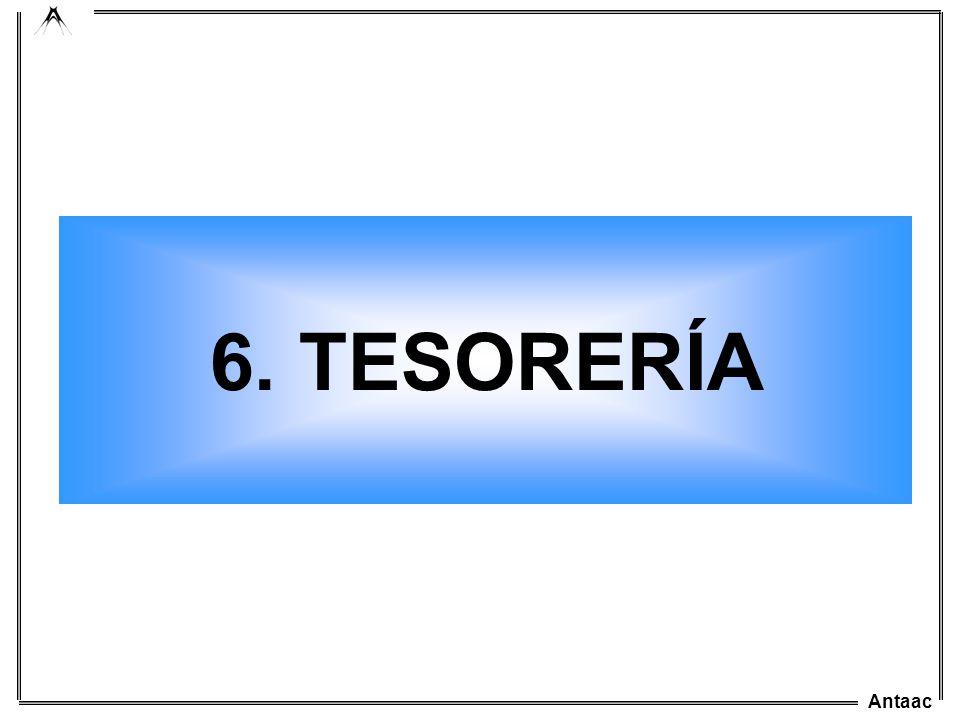 6. TESORERÍA