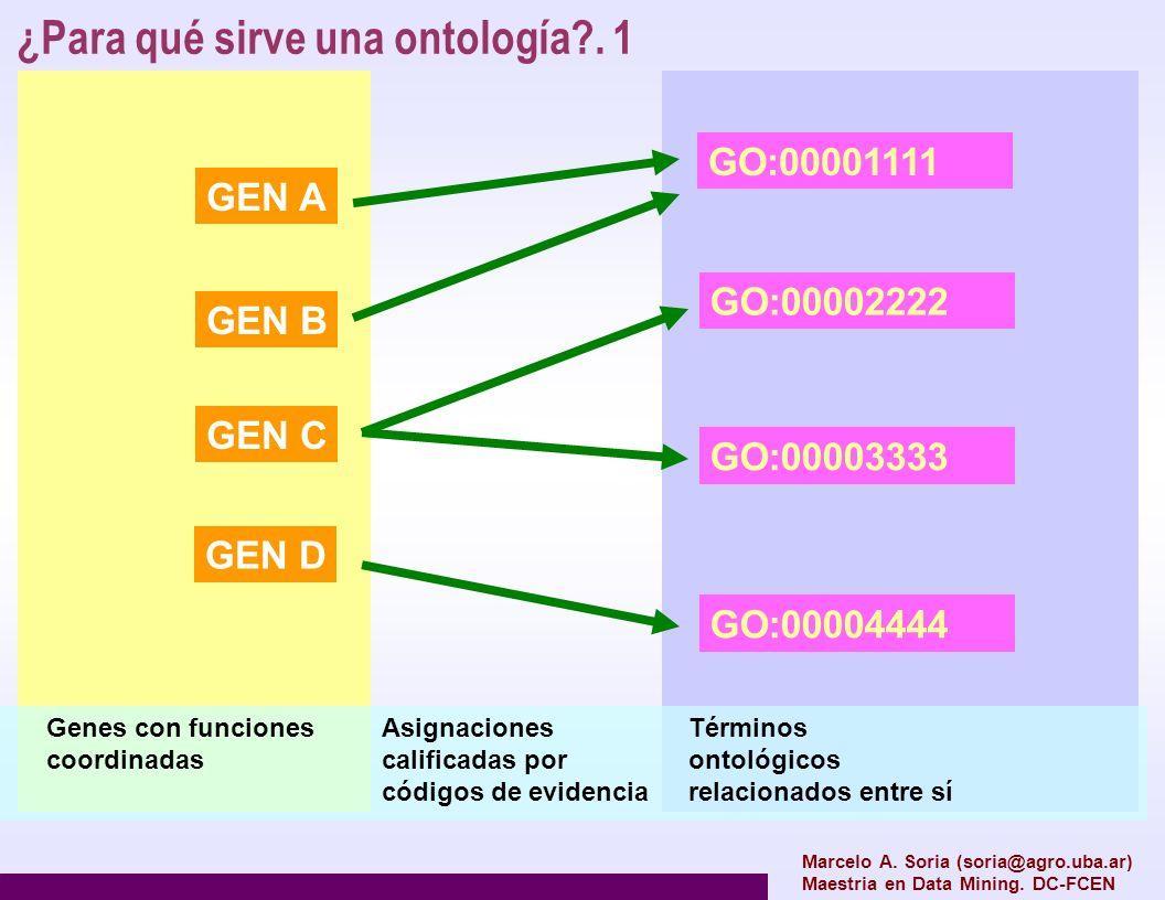 ¿Para qué sirve una ontología . 1