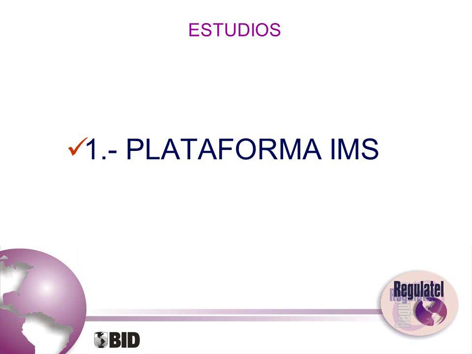 ESTUDIOS 1.- PLATAFORMA IMS