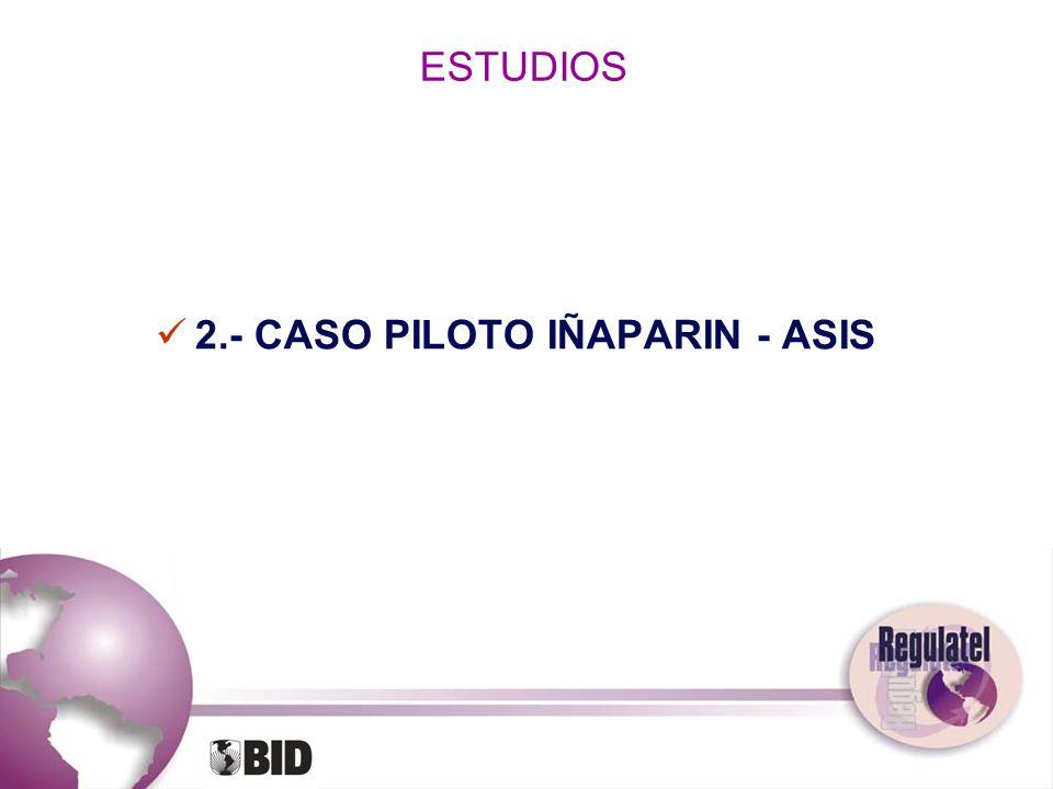 ESTUDIOS 2.- CASO PILOTO IÑAPARIN - ASIS
