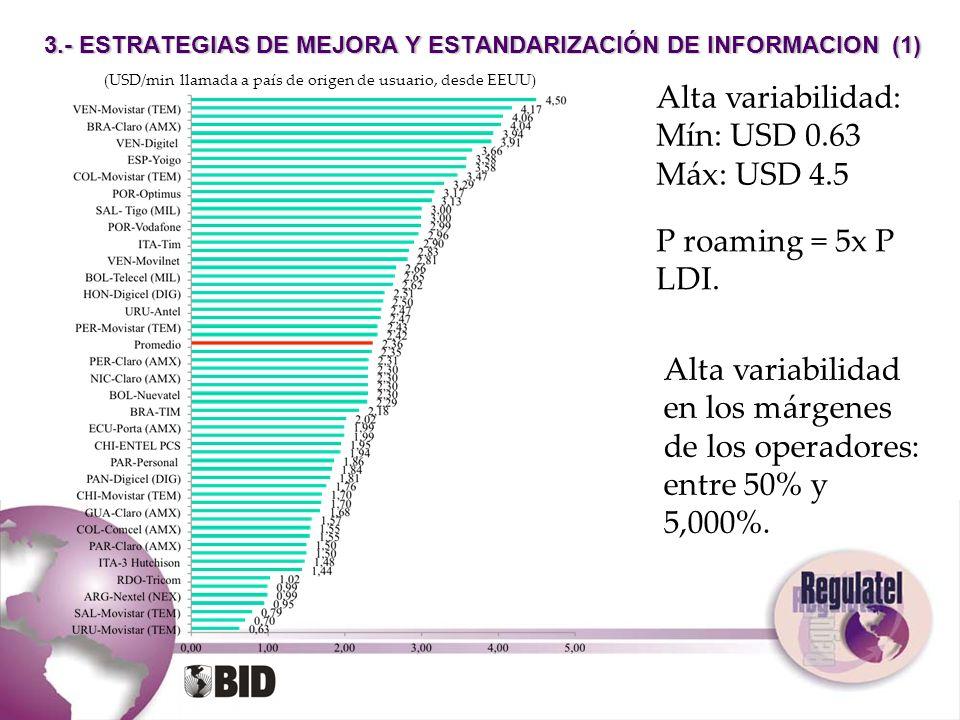 3.- ESTRATEGIAS DE MEJORA Y ESTANDARIZACIÓN DE INFORMACION (1)