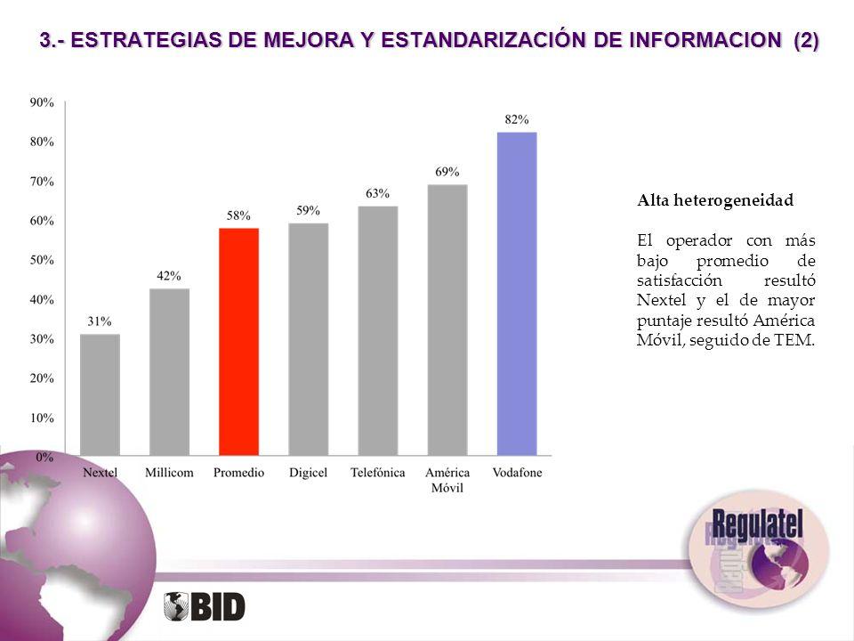 3.- ESTRATEGIAS DE MEJORA Y ESTANDARIZACIÓN DE INFORMACION (2)