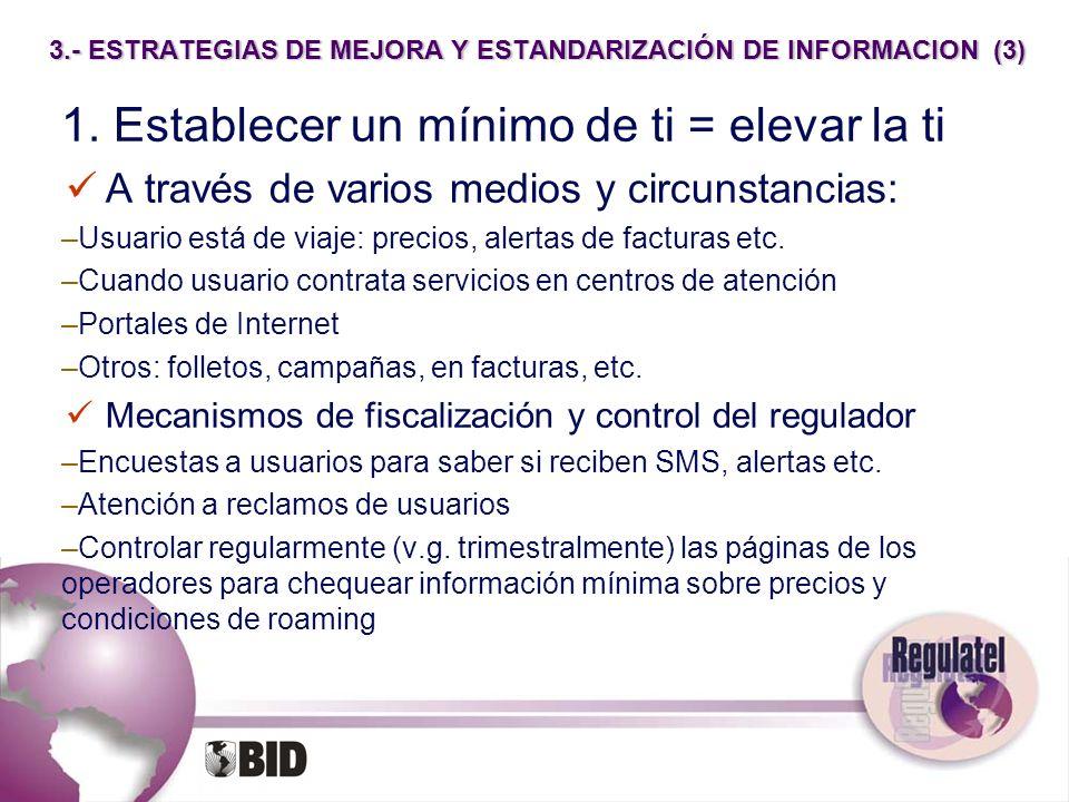 3.- ESTRATEGIAS DE MEJORA Y ESTANDARIZACIÓN DE INFORMACION (3)