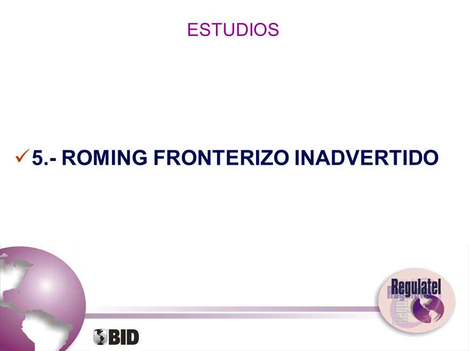 5.- ROMING FRONTERIZO INADVERTIDO