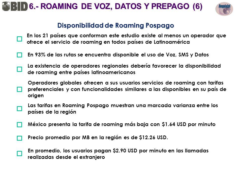 6.- ROAMING DE VOZ, DATOS Y PREPAGO (6)