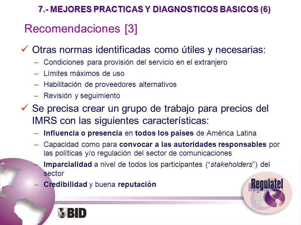 7.- MEJORES PRACTICAS Y DIAGNOSTICOS BASICOS (6)