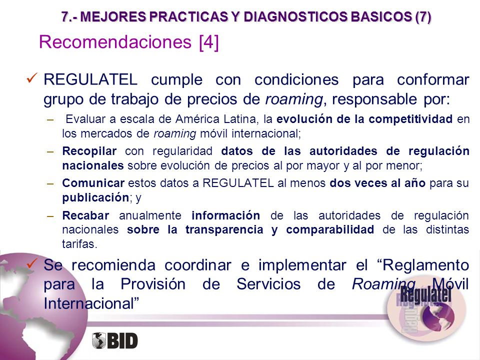 7.- MEJORES PRACTICAS Y DIAGNOSTICOS BASICOS (7)