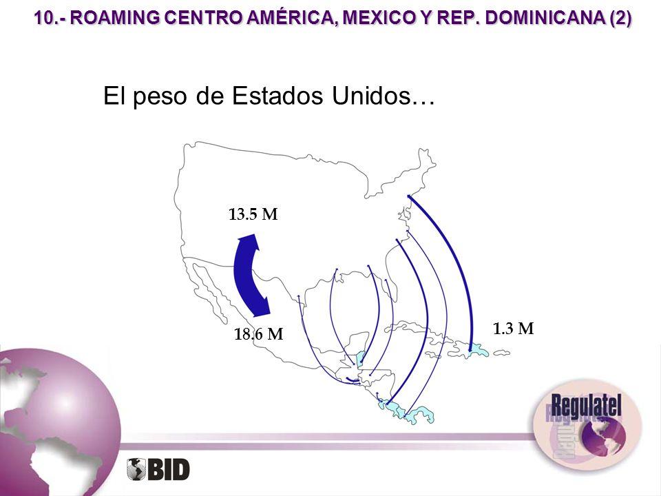 10.- ROAMING CENTRO AMÉRICA, MEXICO Y REP. DOMINICANA (2)