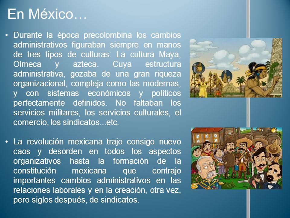 En México…