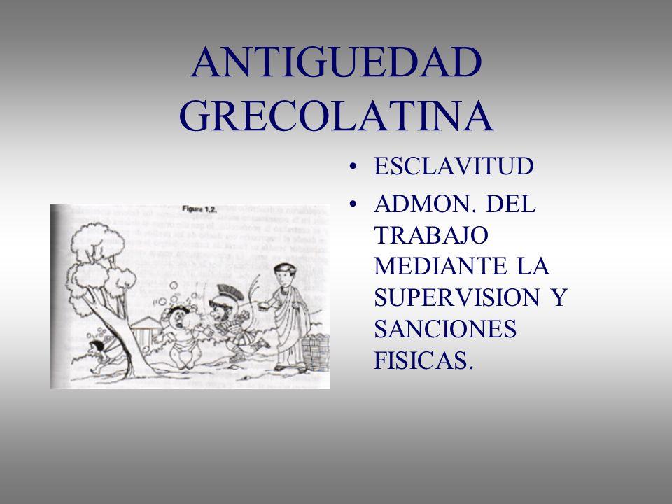 ANTIGUEDAD GRECOLATINA