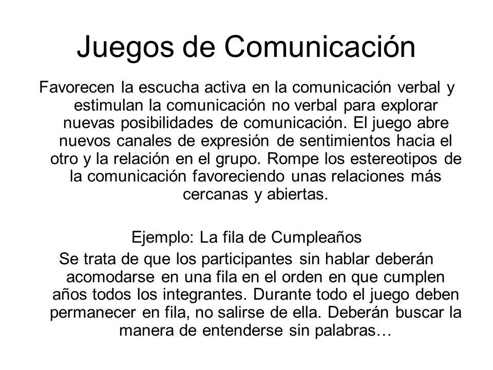 Juegos de Comunicación