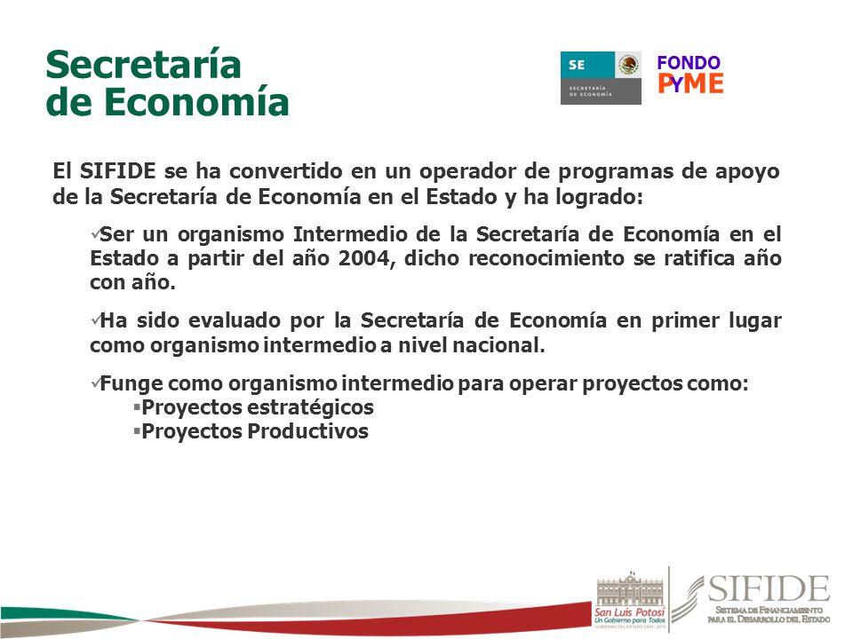 Secretaría de Economía P ME
