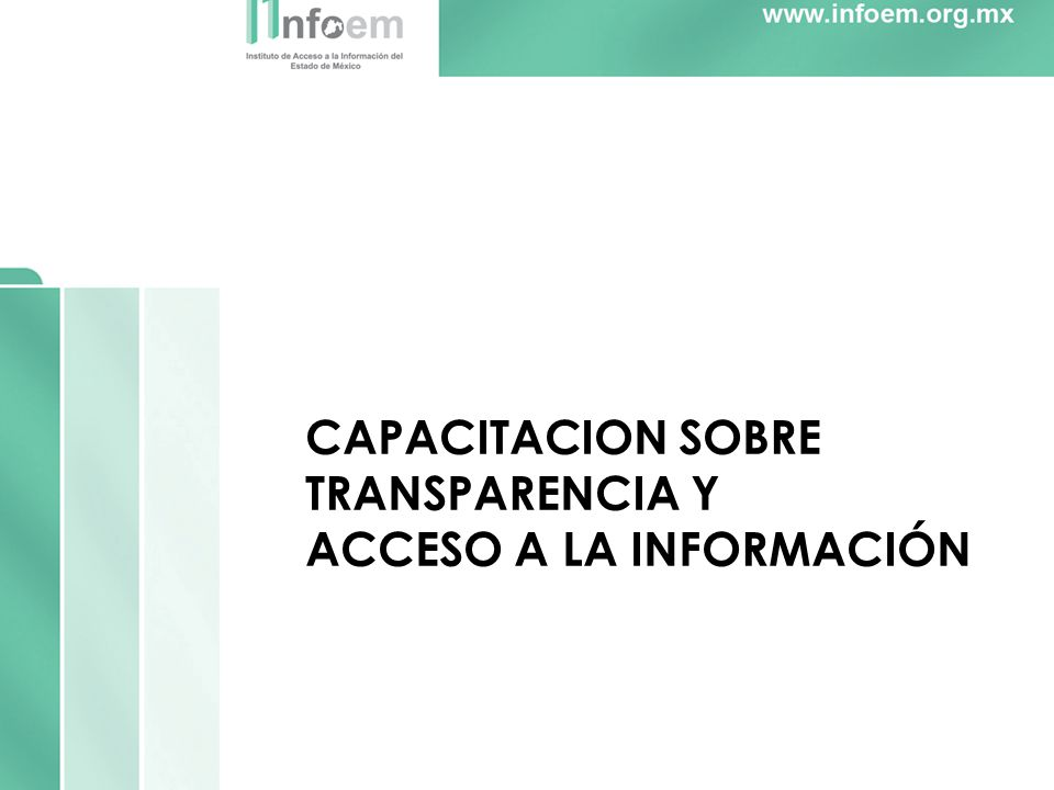 CAPACITACION SOBRE TRANSPARENCIA Y ACCESO A LA INFORMACIÓN