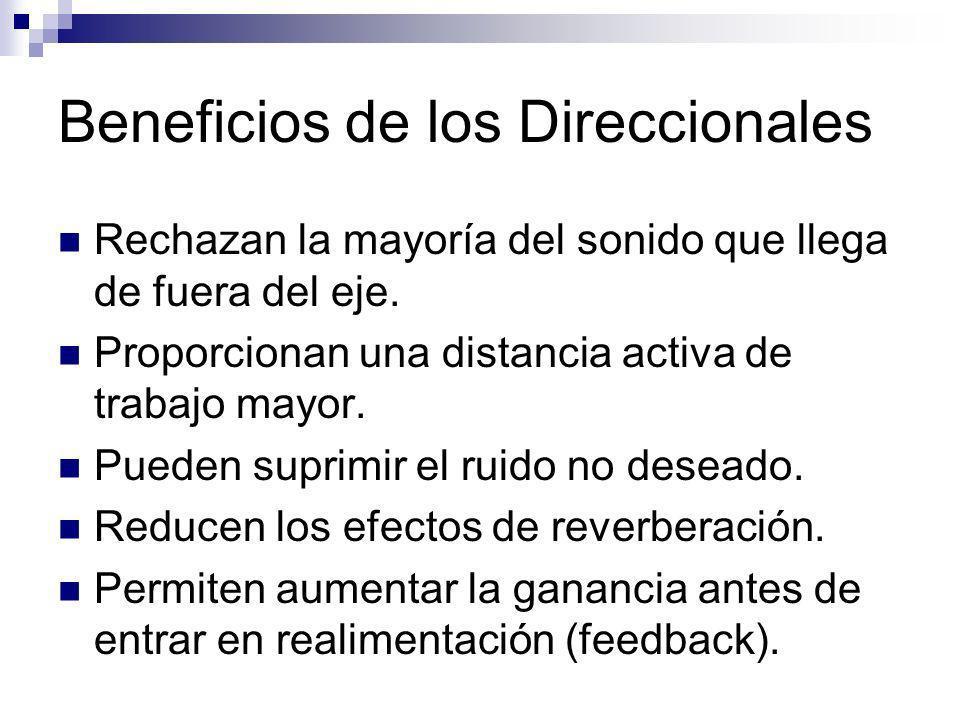 Beneficios de los Direccionales