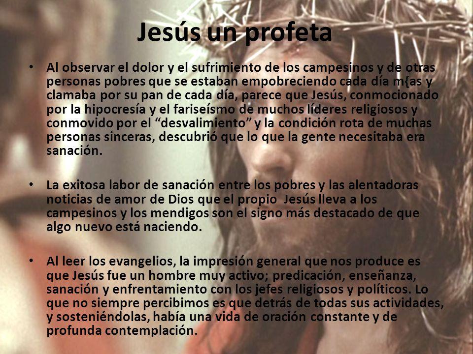 Jesús un profeta