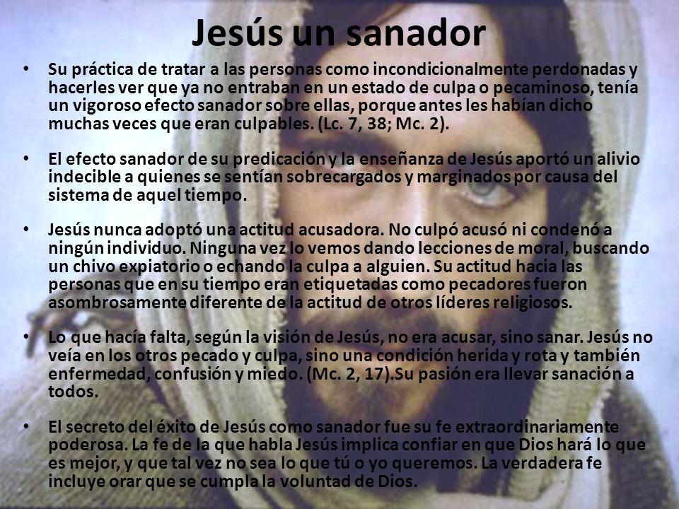 Jesús un sanador