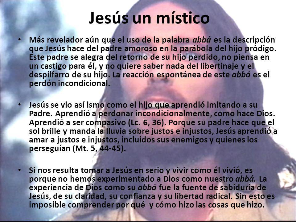 Jesús un místico