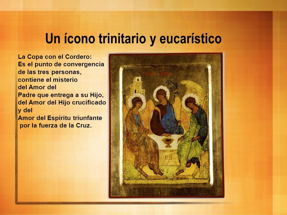 Un ícono trinitario y eucarístico