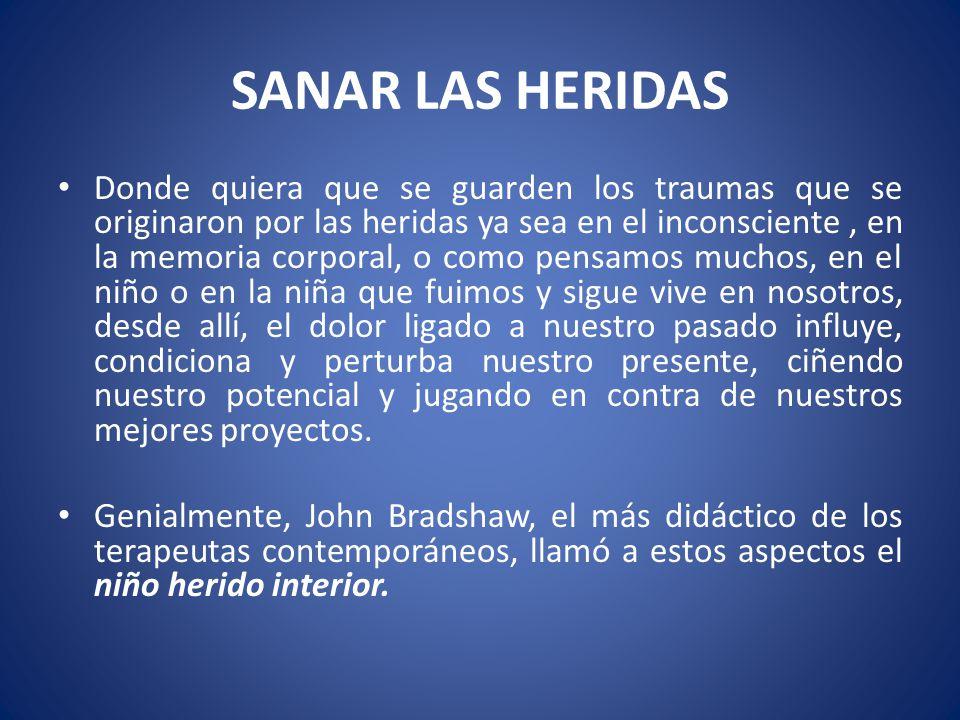 SANAR LAS HERIDAS