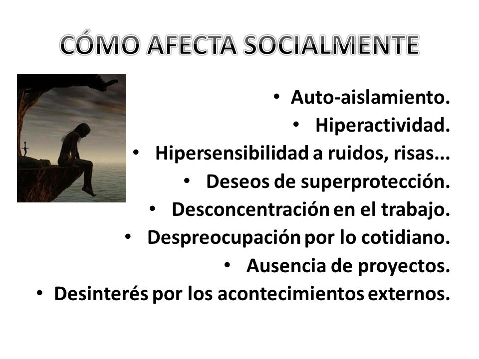CÓMO AFECTA SOCIALMENTE