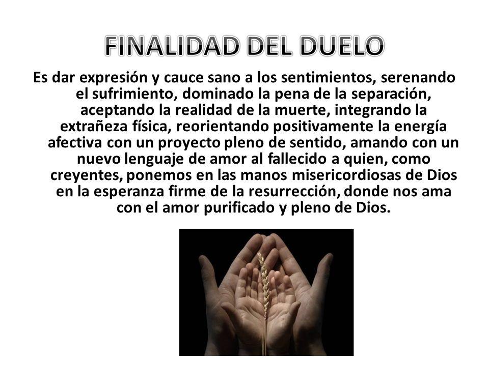 FINALIDAD DEL DUELO