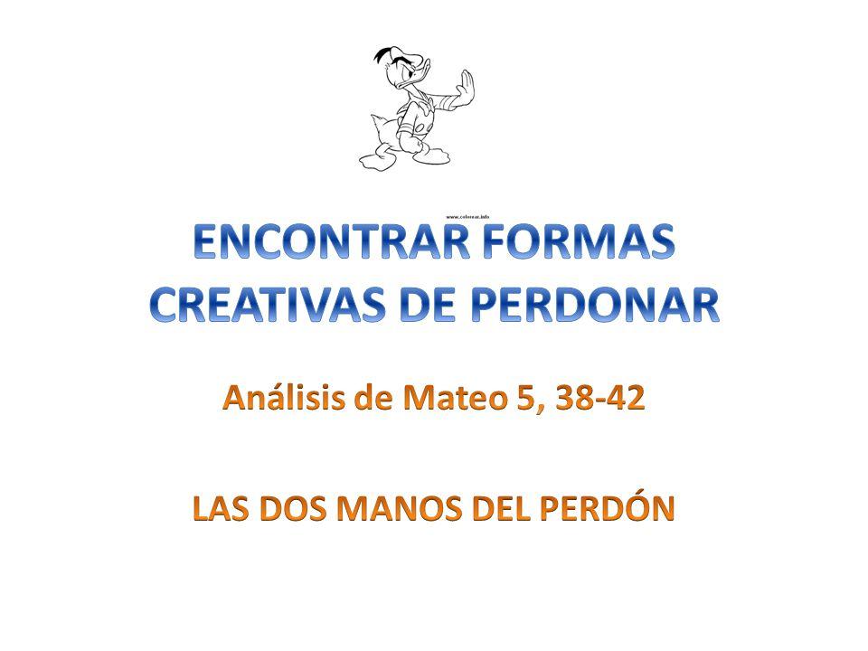 ENCONTRAR FORMAS CREATIVAS DE PERDONAR