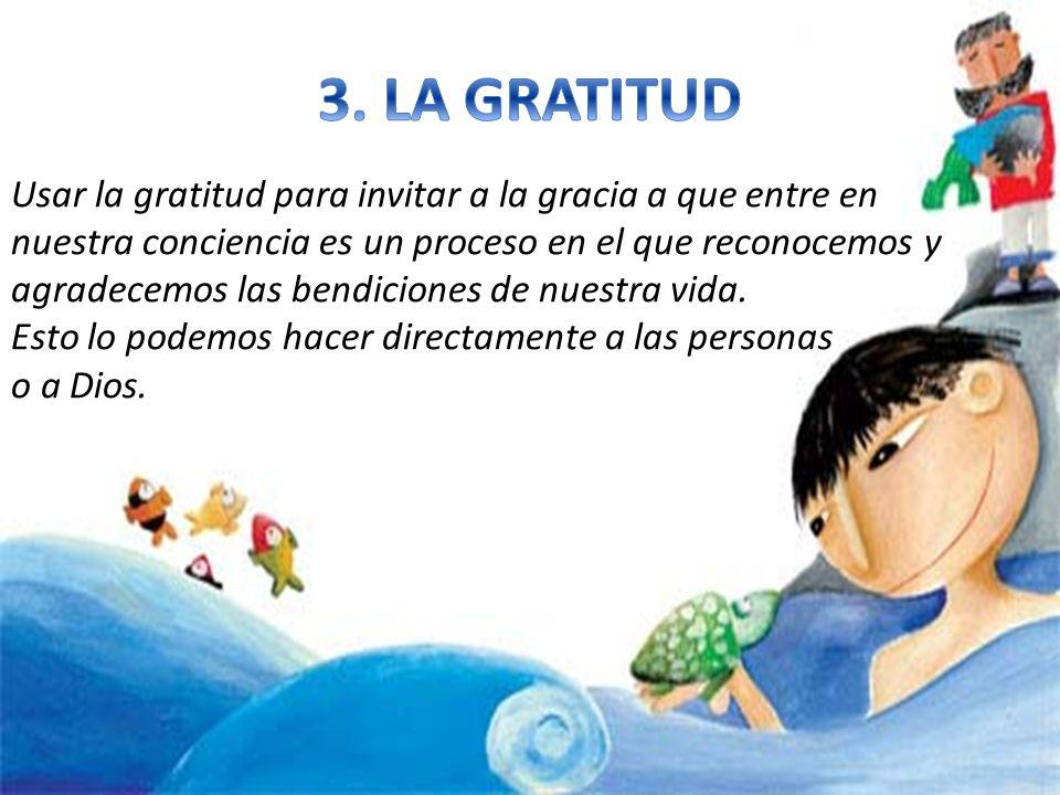 3. LA GRATITUD