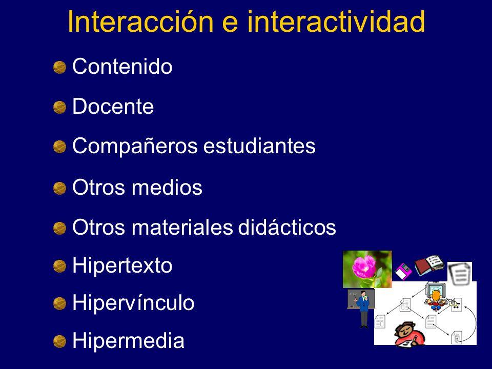 Interacción e interactividad