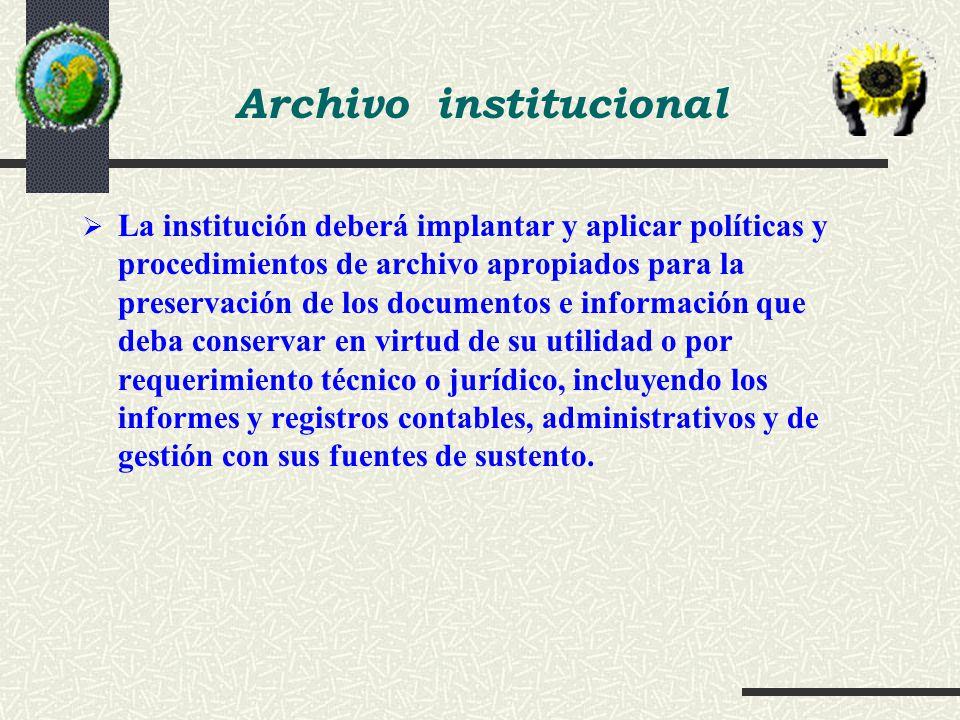Archivo institucional