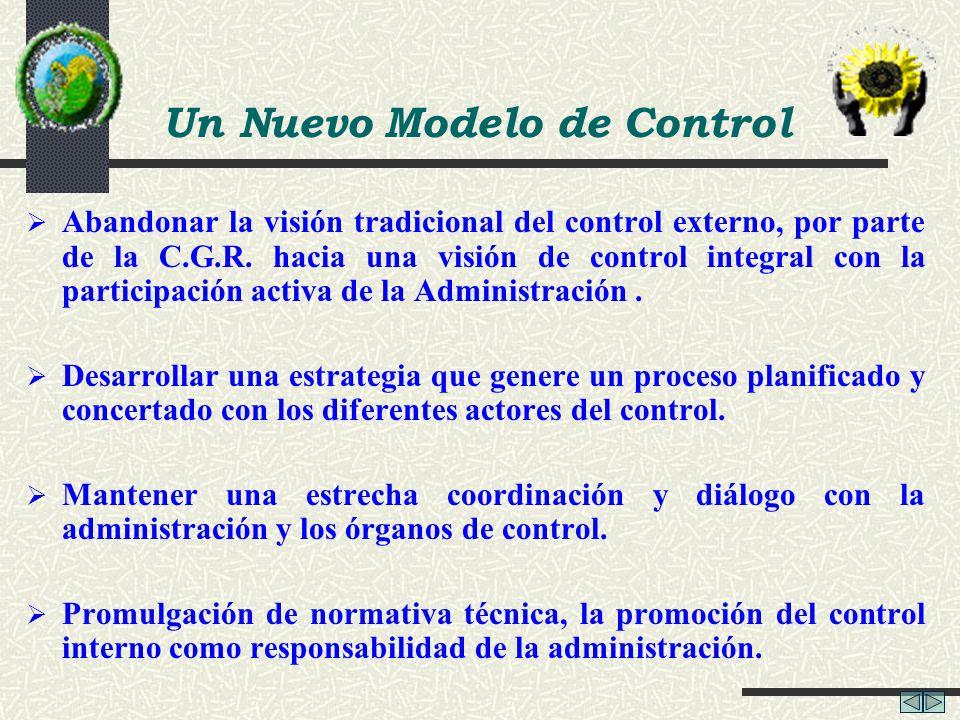 Un Nuevo Modelo de Control
