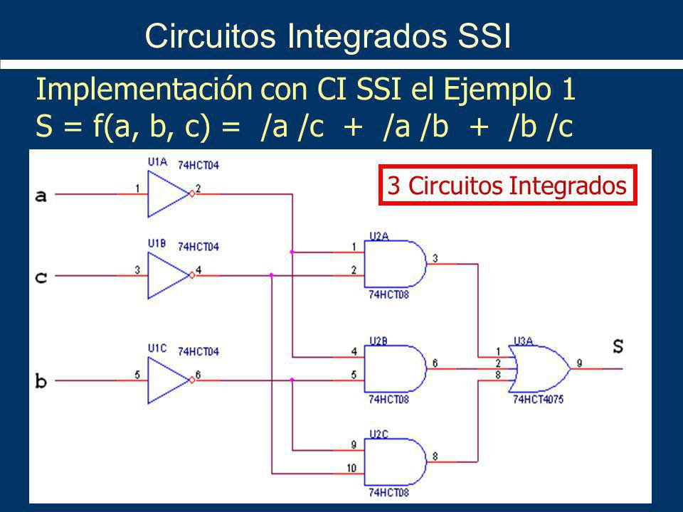 Circuitos Integrados SSI