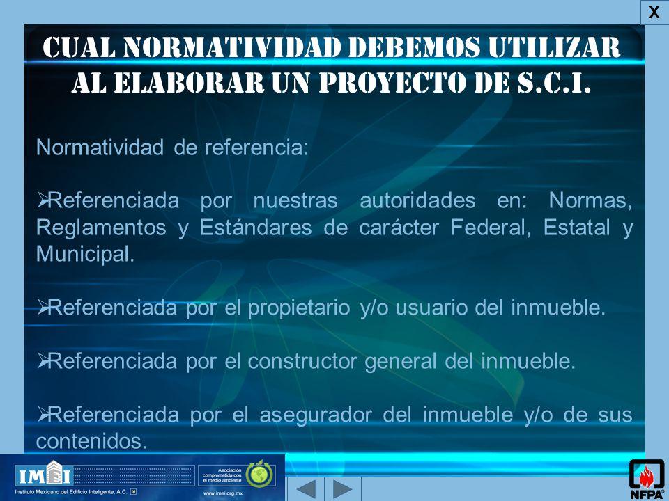 Cual normatividad debemos utilizar al elaborar un proyecto de s.c.i.