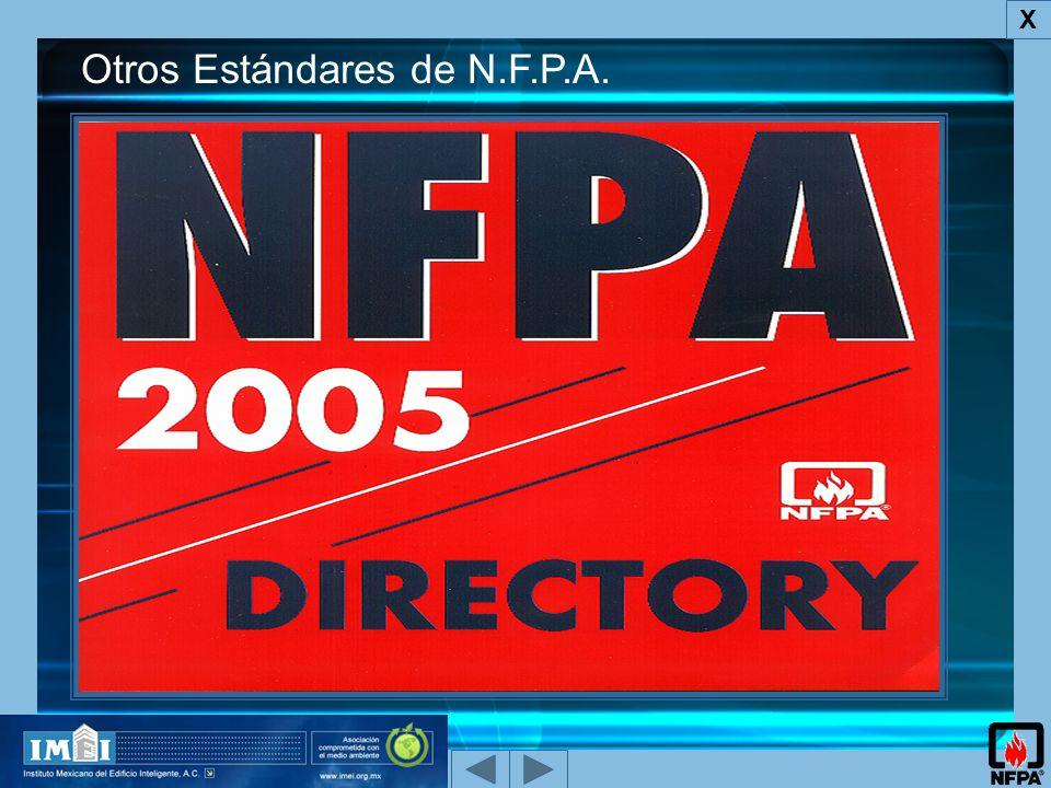 Otros Estándares de N.F.P.A.