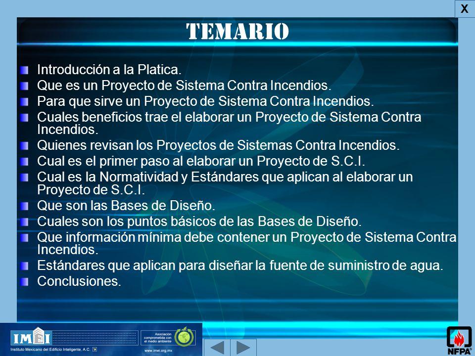 Temario Introducción a la Platica.