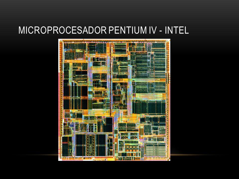 Microprocesador Pentium IV - Intel