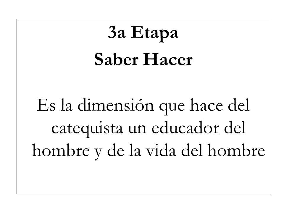 3a Etapa Saber Hacer.