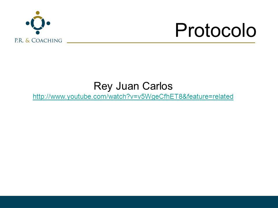 Protocolo Rey Juan Carlos